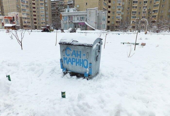 зима на Апеннинах