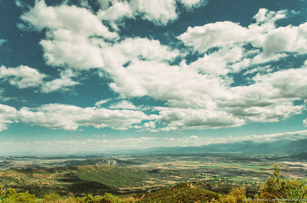 Греция, Метеоры, пейзаж