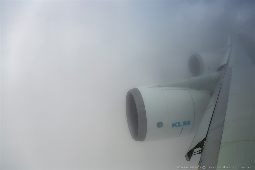 Полет с KLM на B747
