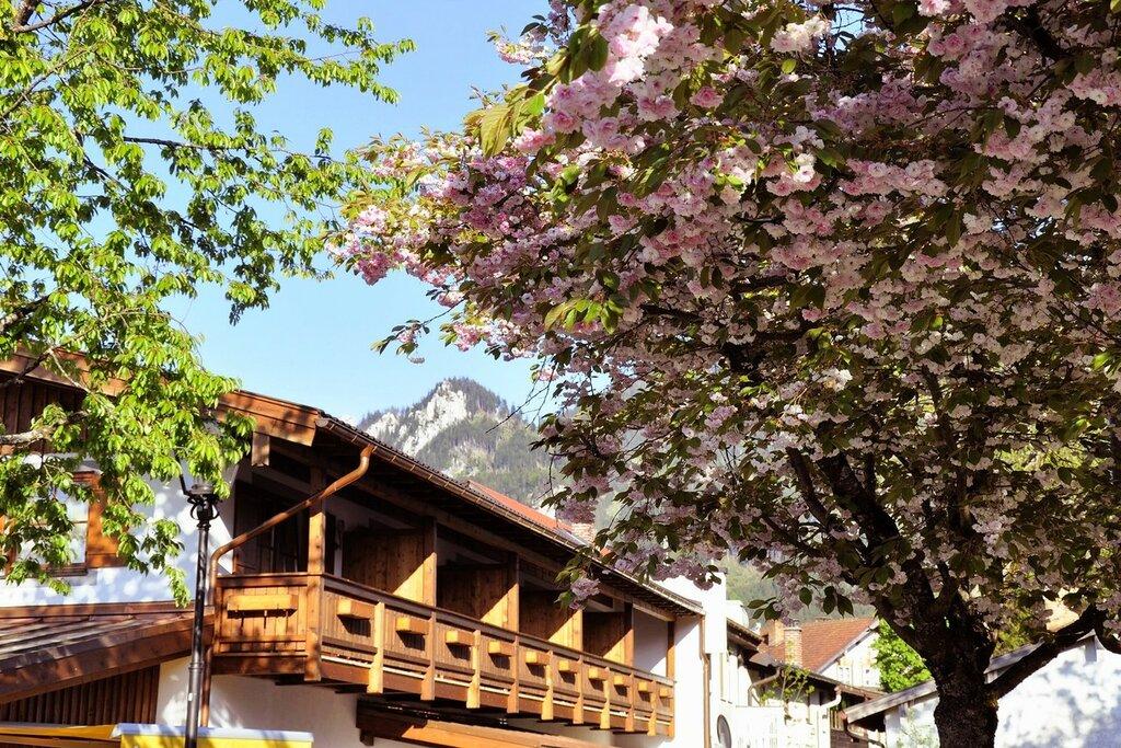 Обераммергау. Цветущая Бавария.