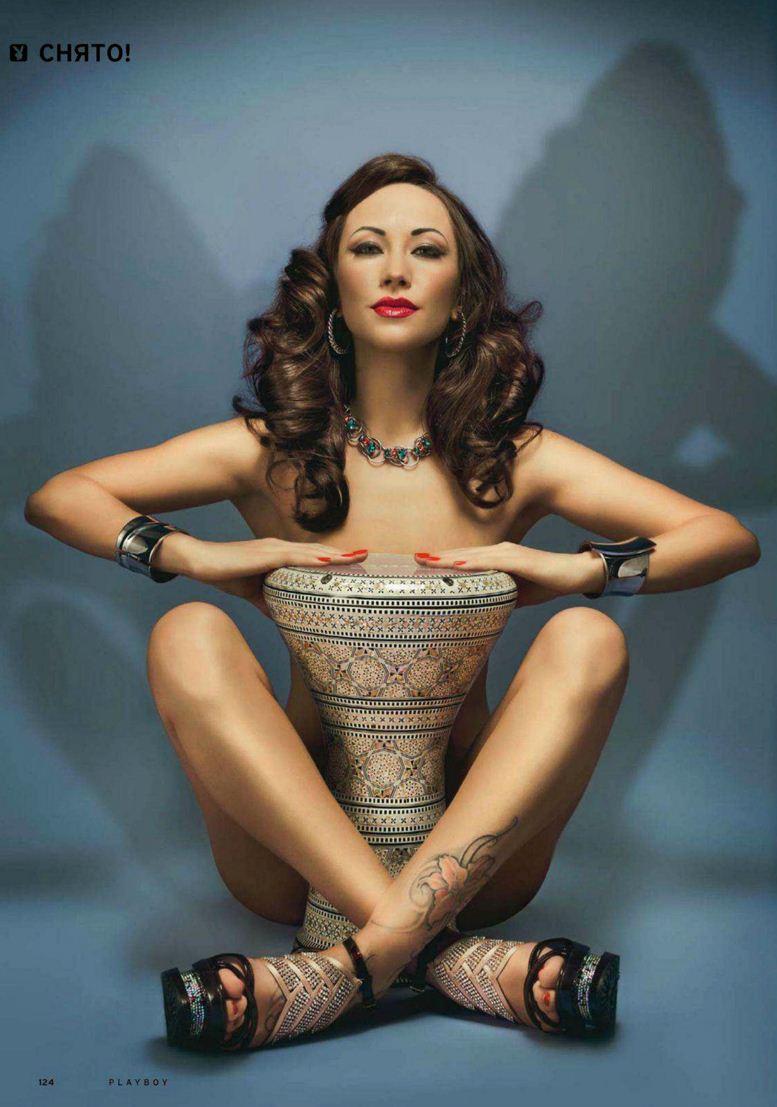 Вероника Гордиевская в Playboy Россия, август 2012