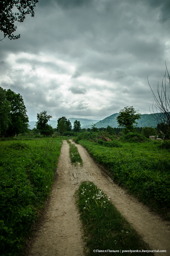панько pavelpanko природа Адыгея дорога