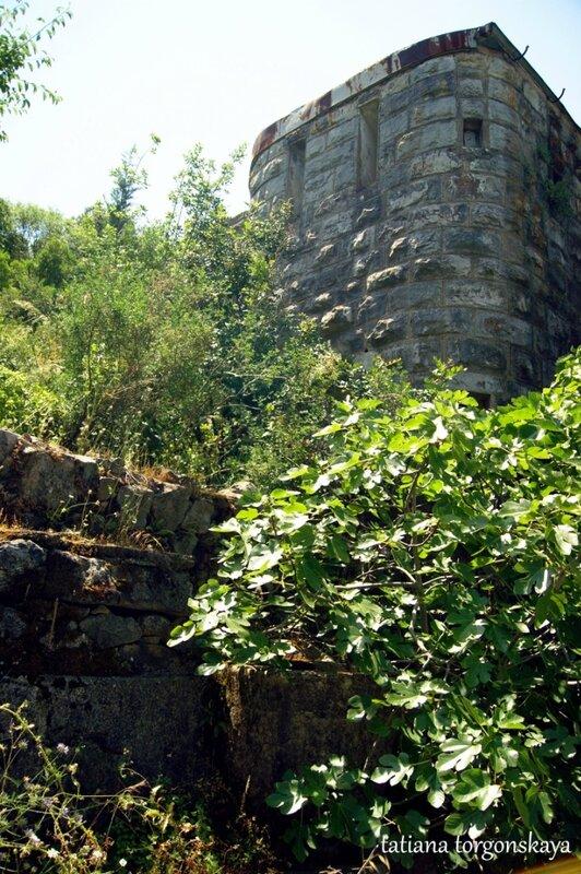 Крепость в Росе