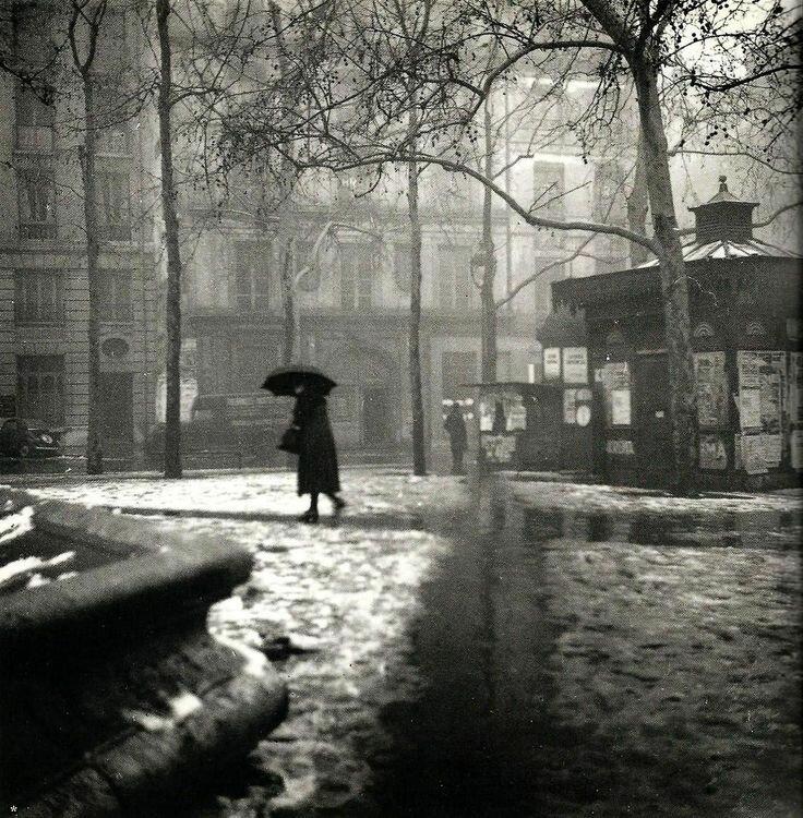 1948. Площадь Сен-Сюльпис, Париж