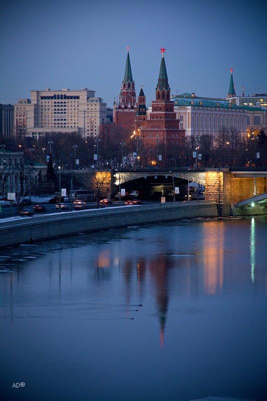 Вечер на Патриаршем мосту