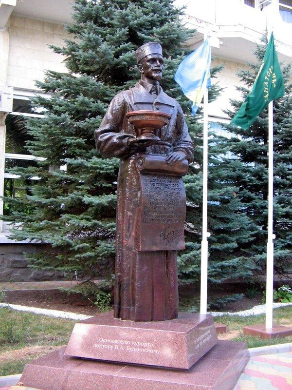 Основатель курорта Анапа.