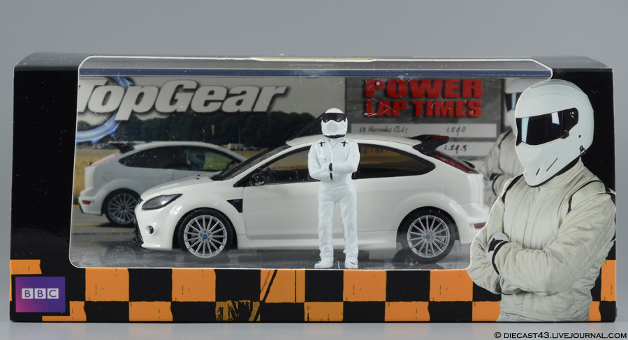 Ford Focus RS Minichamps Top Gear