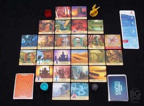настольная игра Запретный остров (Forbidden Island)