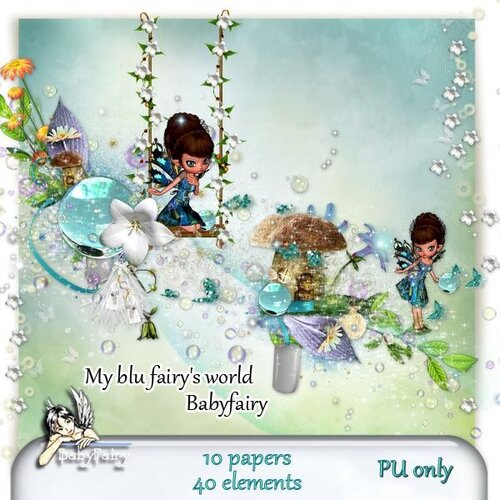 Baby fairy My Blue Fairys world