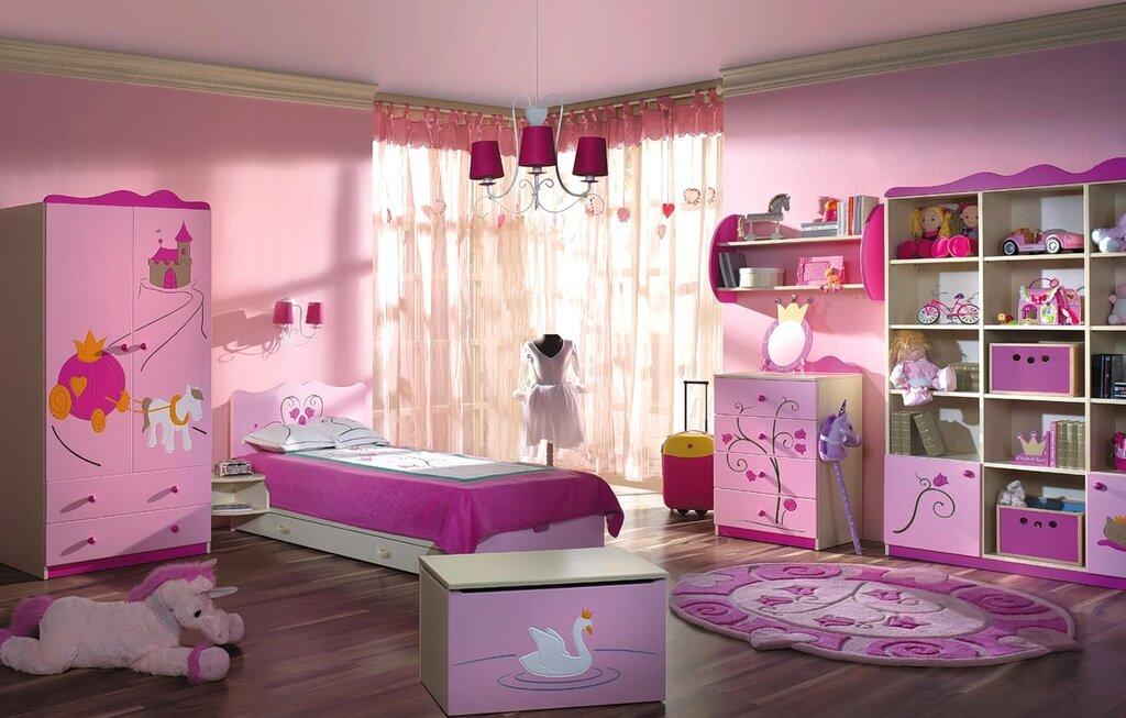 Красивые детские комнаты фото