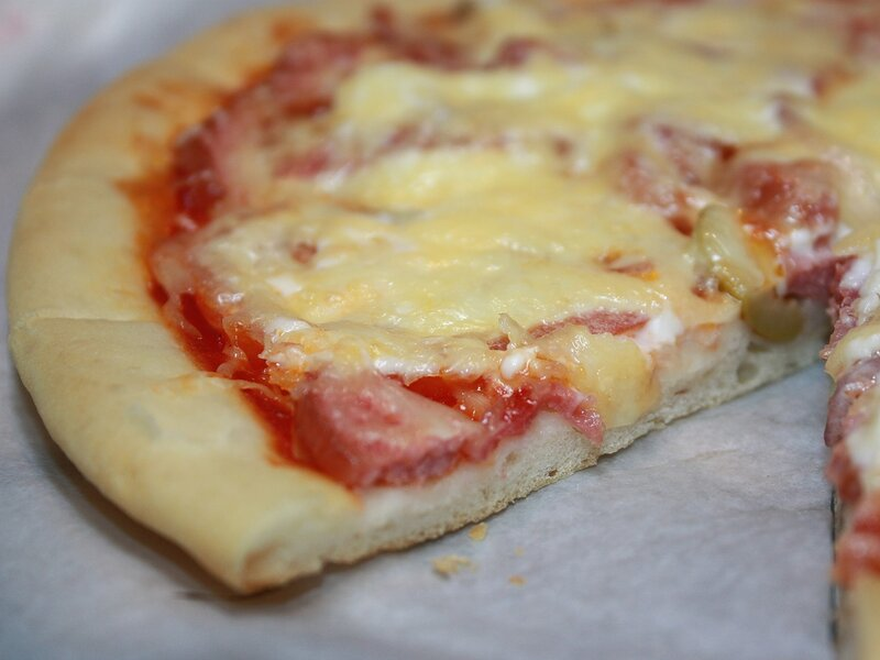Домашняя пицца.