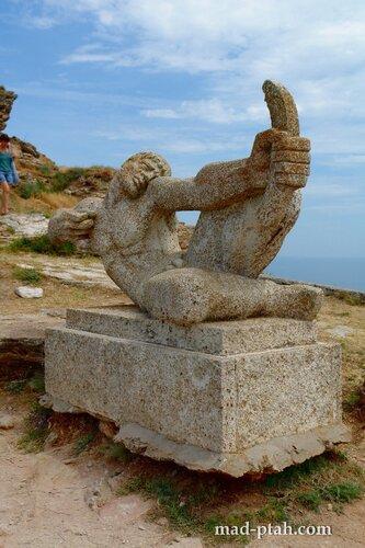 калиакра, болгария, памятник