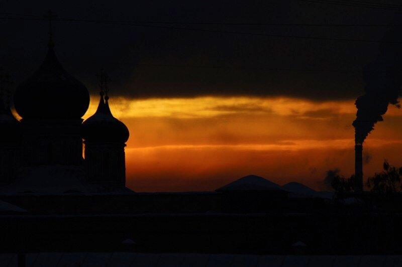 Москва, февраль, утро