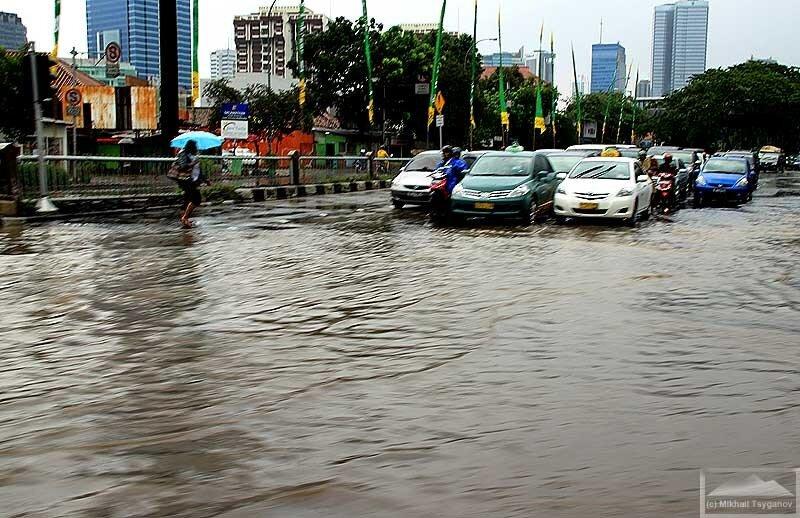 Очередное наводнение