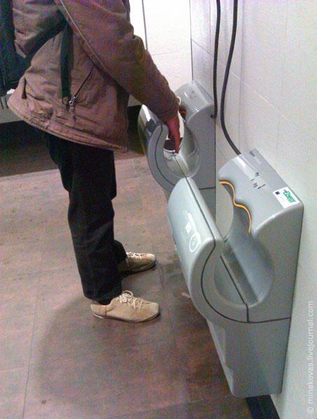 инновационная сушилка для рук
