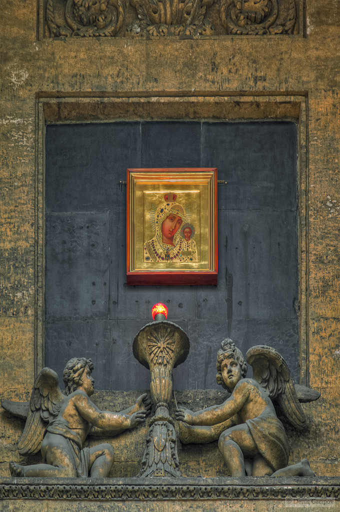 Казанский собор, икона