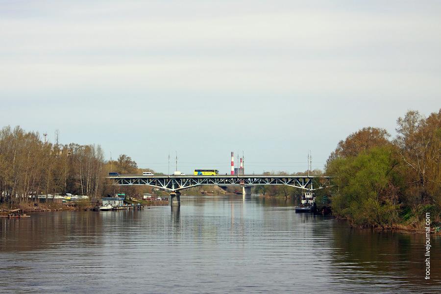 Река Тверца и Тверецкий мост