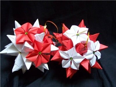 Оригами мэрцишор