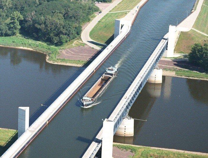 водный мост фото