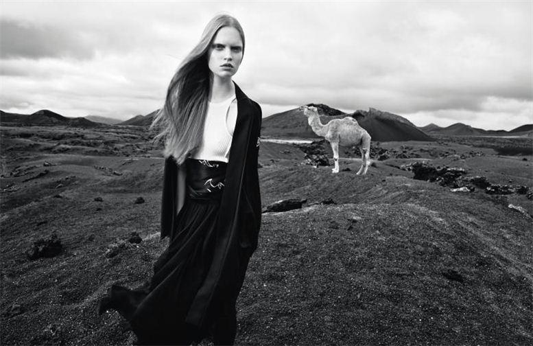 модель Луиза Бьянчин / Luisa Bianchin, фотограф Thomas Krappitz
