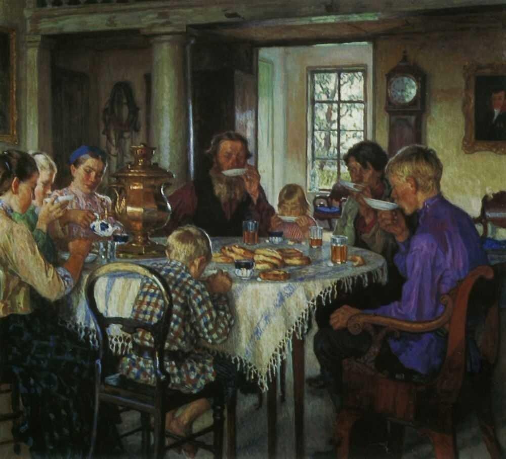 Богданов-Бельский,  Новые хозяева. 1913 http://veniamin1.livejournal.com/profile