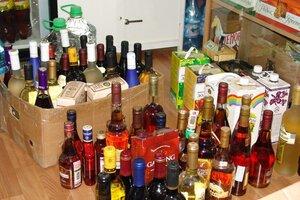 Более 10 тысяч бутылок контрафактного алкоголя изъято в Якутии