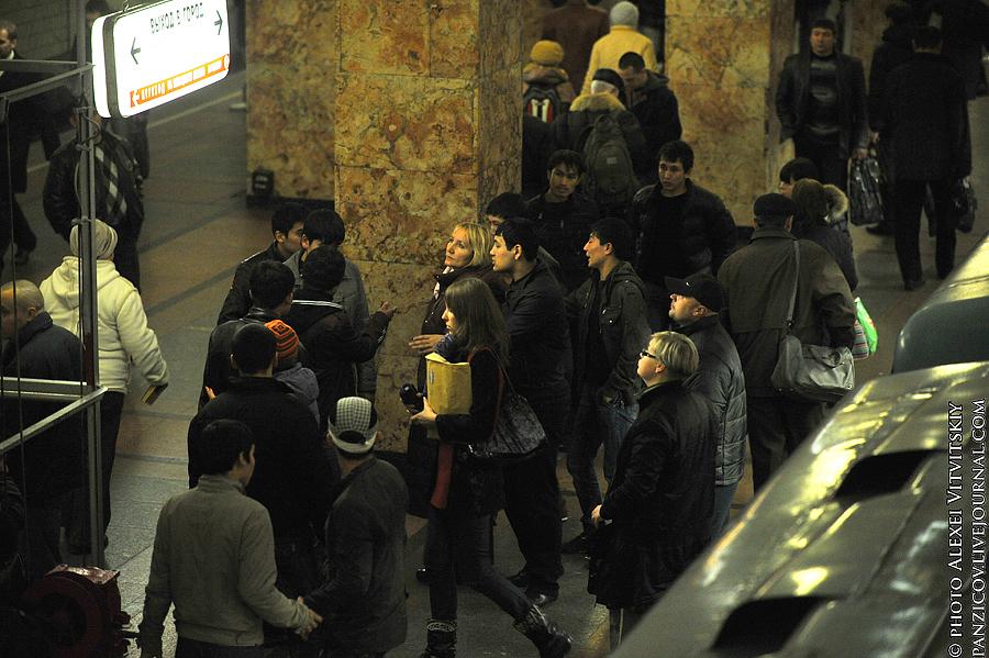 Задачка N1 для Полиции - нелегальная деятельность в метро!