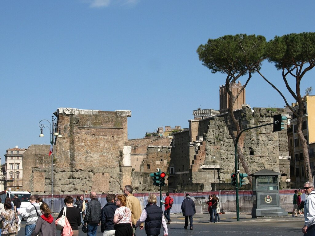 Рим. Форум Августа (Forum Augusti)