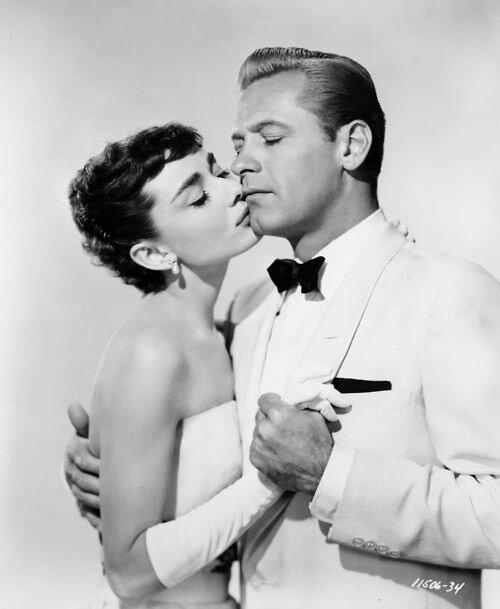 Audrey Hepburn William Holden
