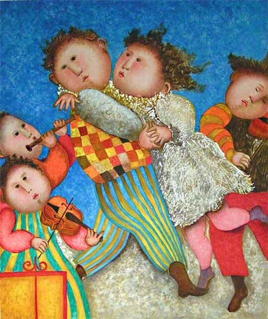 Graciela Rodo Boulanger художница из Боливии