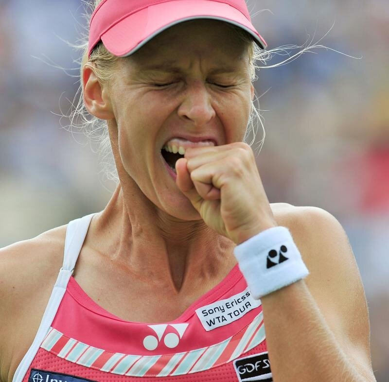 фото эмоций теннисисток выбору цвета парео