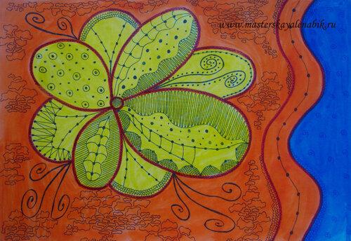 Рисунки акварелью цветы. Елена Бикбаева