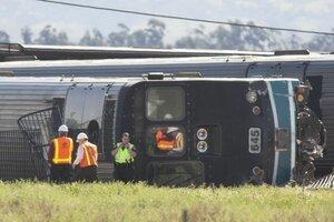 В США с рельсов сошел поезд – 50 человек пострадало