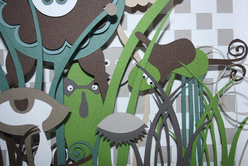 papercutting - вырезание из бумаги