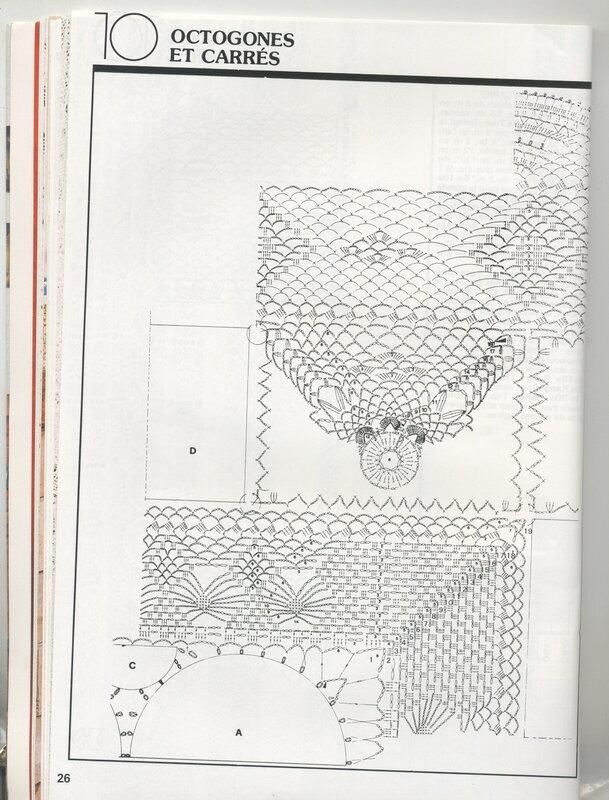 钩针窗帘图解(1) - 柳芯飘雪 - 柳芯飘雪的博客