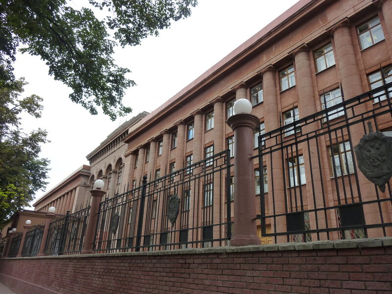 Самое пафосное здание Нижнего - здание ФСБ