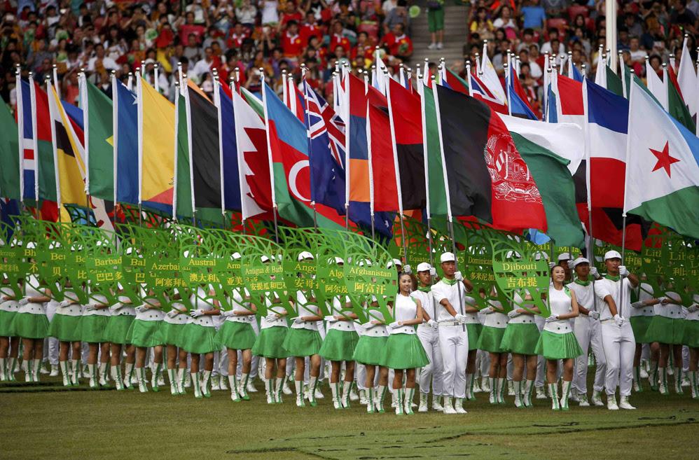 Красивые фотографии открытия XV чемпионата легкой атлетики в Пекине 0 13ff40 69aa76b orig