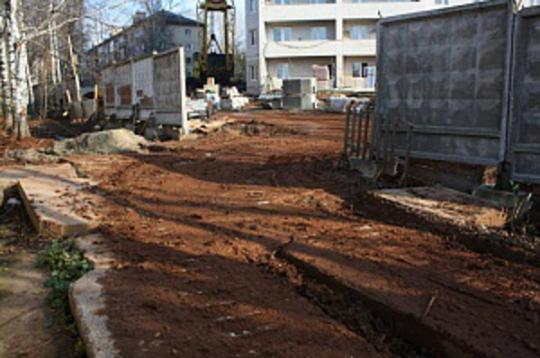 Грязь со строительных площадок не должна попадать на улицы города