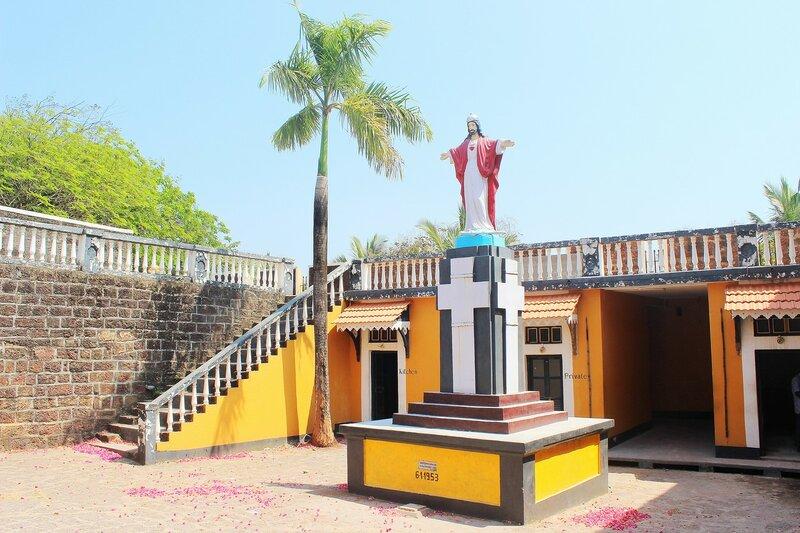 Гоа - поездка на Fort Tirokol