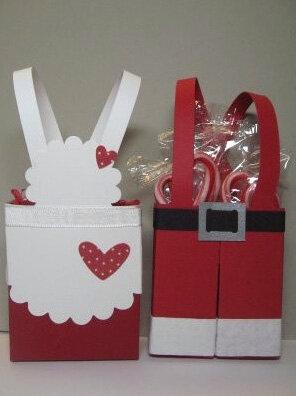 Упаковка для новогоднего подарка