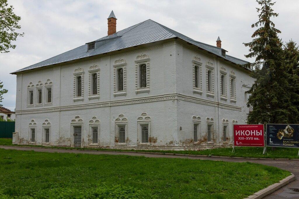 Митрополичьи палаты, музей древнерусского искусства, Ярославль