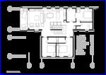 Следующая иллюстрация План второго этажа Дом построен для длительного совместного прибывания семьи из пяти человек.