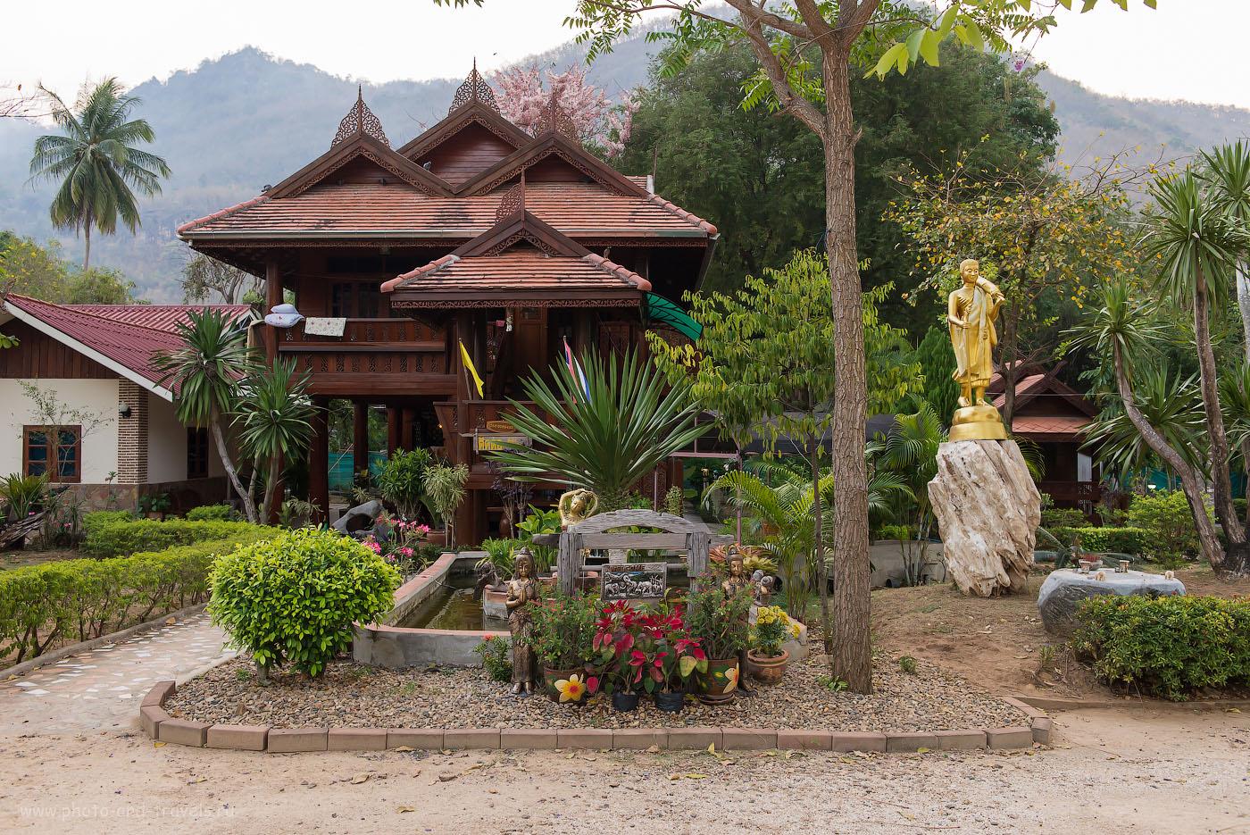 Фото 4. Отель на берегу реки Квай перед въездом в национальный парк Эраван (1250, 32, 6.3, 1/50)