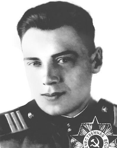 Е. В. Синицын, фото 1943 года