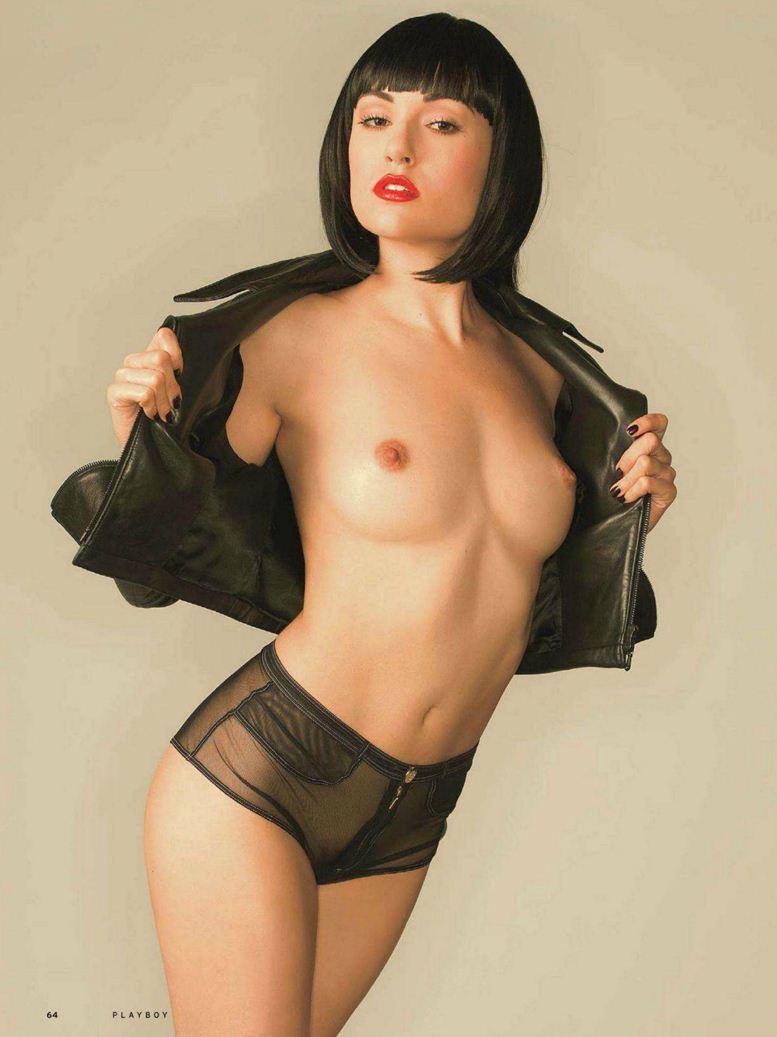 Sasha Grey / Саша Грей в Playboy Россия, август 2012