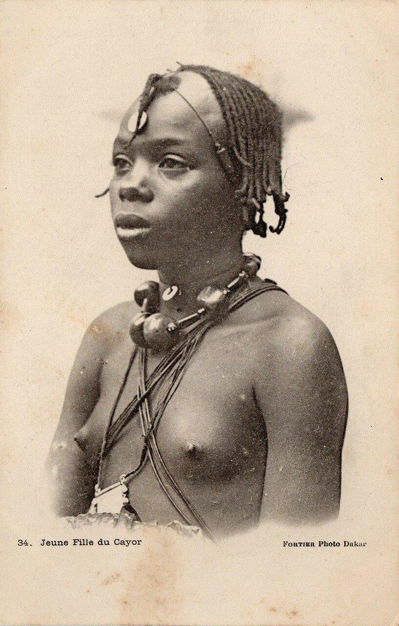 Сенегал. Девушка из Саера