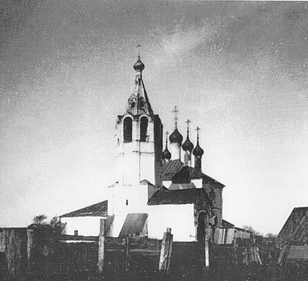 Церковь Параскевы Пятницы на Всполье