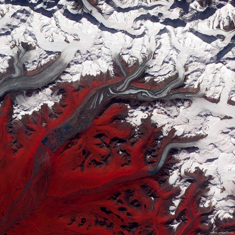 2. Ледник Суситна на Аляске