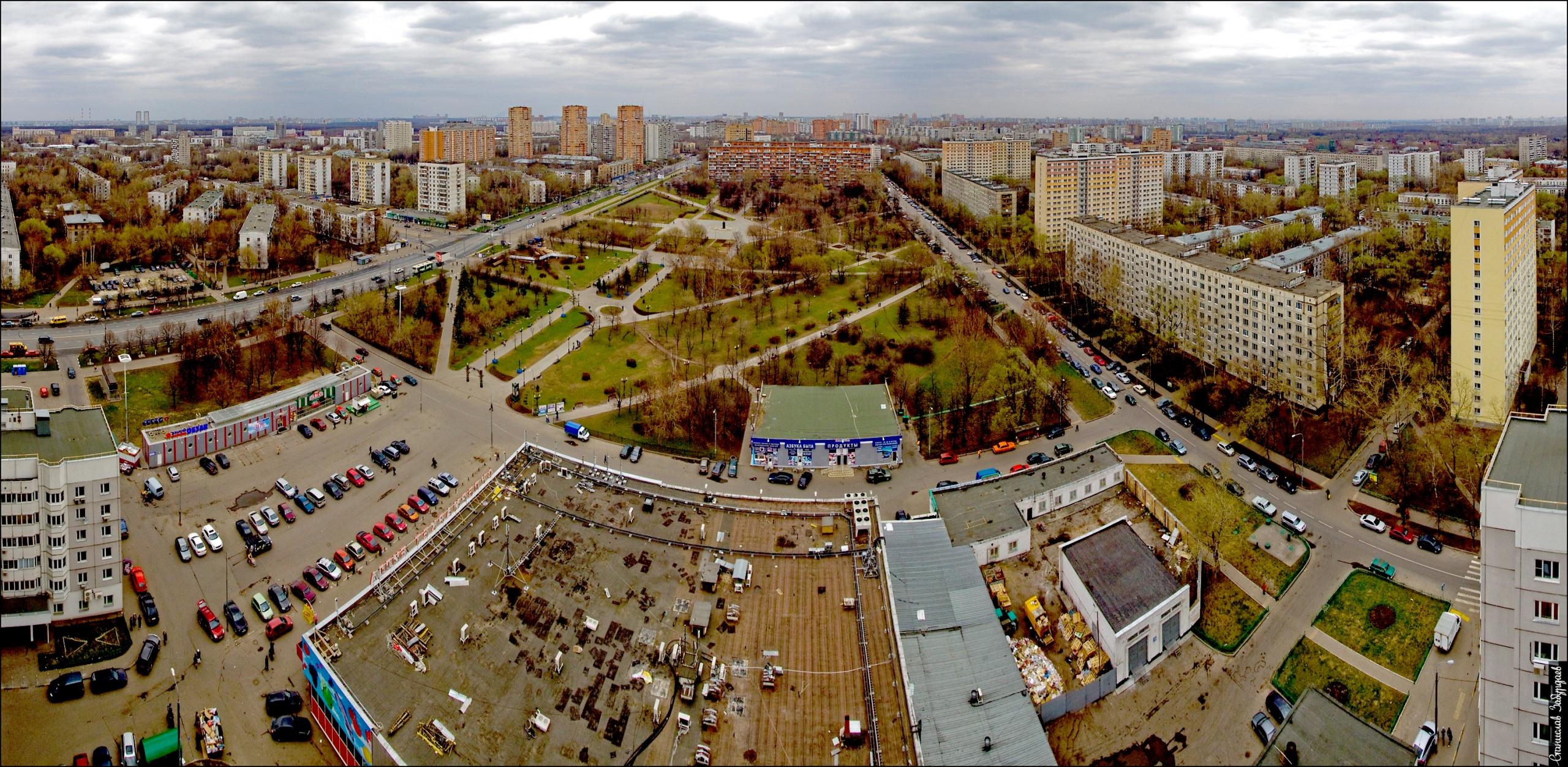 Панорамный вид на Перово