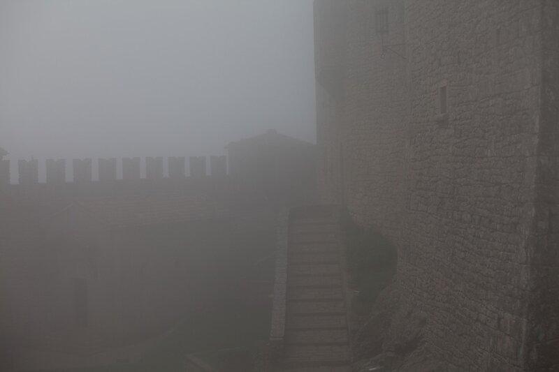 Туманная крепостная башня